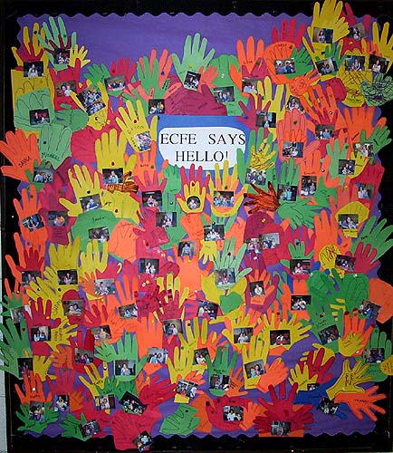 Dbdf november 2004 articles every fall at daytons bluff early childhood family education ecfe program parents and children sing a song called my hand says hello m4hsunfo